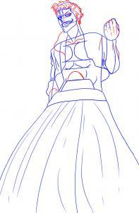 Как нарисовать рубашку и юбку