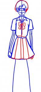 схема вязание прямой юбки спицами