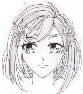 Рисуем аниме