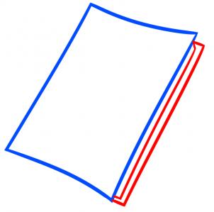 Как нарисовать тетрадь смерти тетрадь карандашом поэтапно