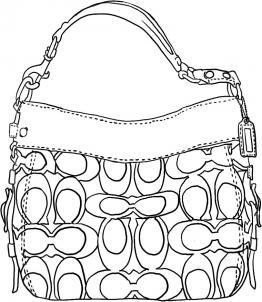 4a5cbd358587 Как нарисовать сумку карандашом поэтапно